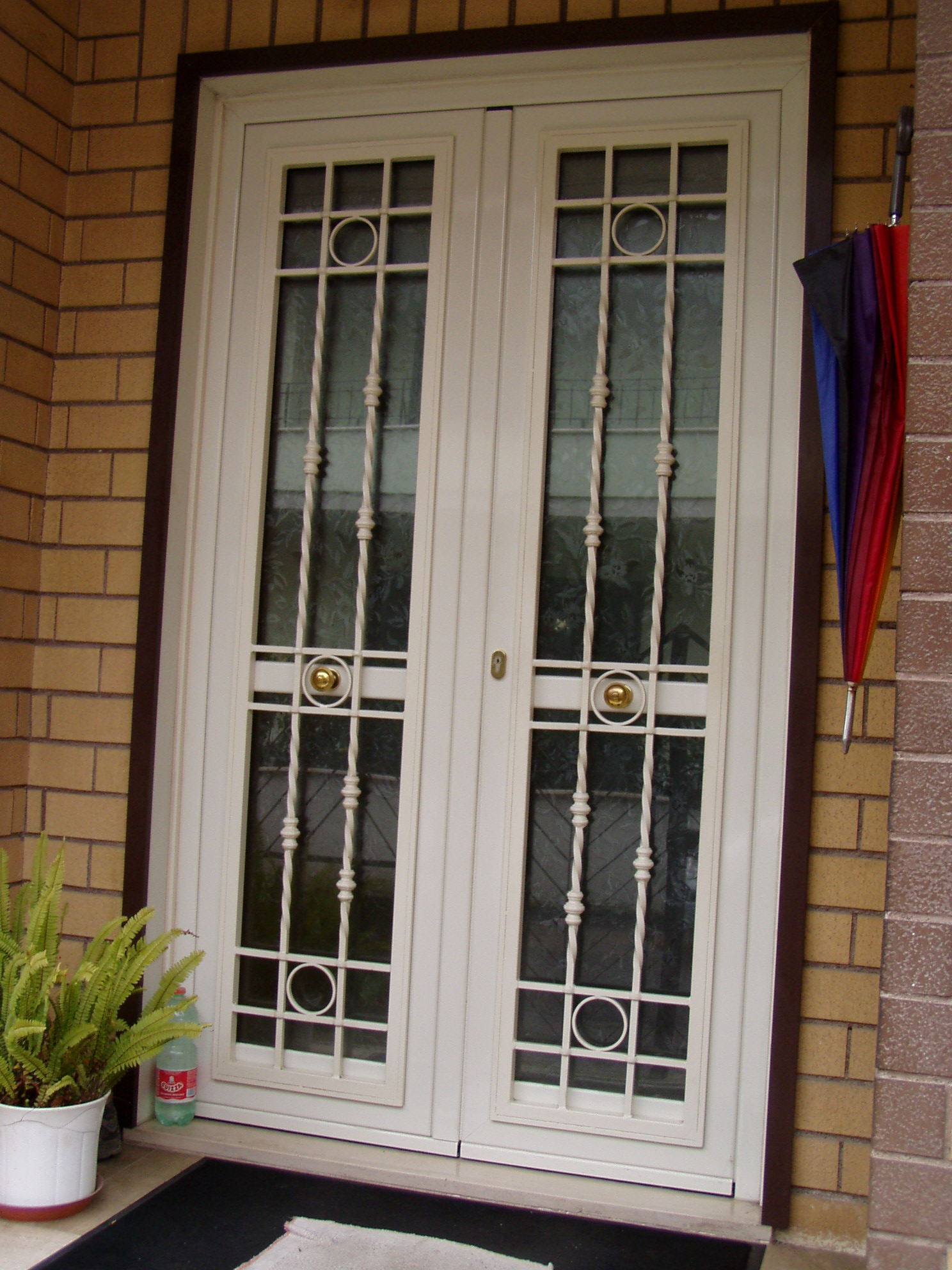 Aloisi daniele infissi in ferro e alluminio portoni - Porta esterna in alluminio ...
